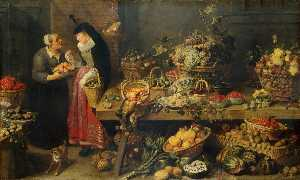 Frans Snyders - A Fruit Stall