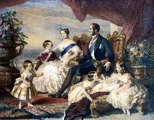 Franz Xaver Winterhalter - The Royal Family in 1846