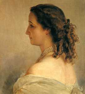 Franz Xaver Winterhalter - Eugenie, Empress of the F..