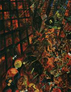 George Grosz - The Burial