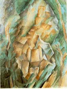 Georges Braque - Castle at La Roche Guyon