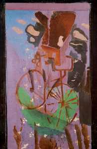 Georges Braque - The Bicycle