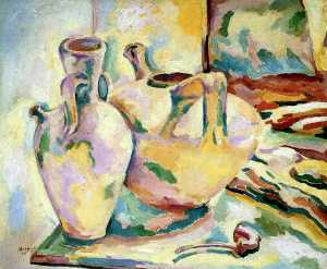 Georges Braque - Still Life with Jugs and ..
