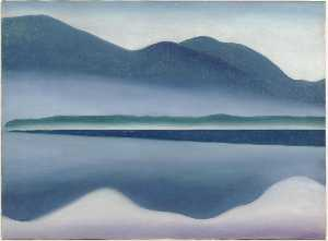 Georgia Totto O'Keeffe - Lake George (formerly Ref..