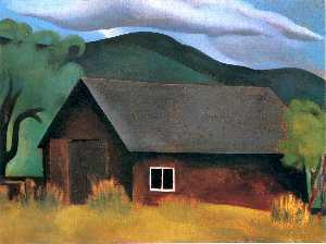 Georgia Totto O'Keeffe - My Shanty, Lake George