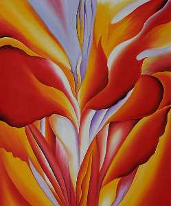 Georgia Totto O'Keeffe - Red Canna