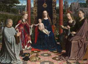 Gerard David - The Virgin and Child with..