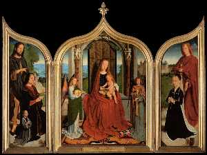 Gerard David - Triptych of the Sedano Family