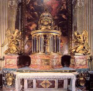Gian Lorenzo Bernini - Altar of the Cappella del..