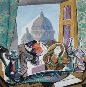 Gino Severini - Still Life with the Dome ..
