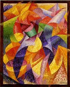 Gino Severini - Sea = Dancer