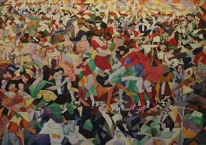 Gino Severini - The Pan Pan at the Monico