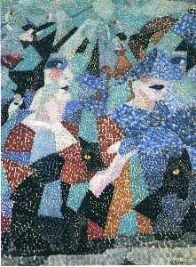 Gino Severini - The Haunting Dancer