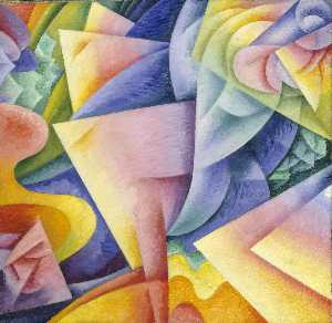 Gino Severini - Ballerina - Bow - Sea