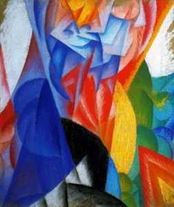 Gino Severini - Dancer + Sailing + Sea = ..