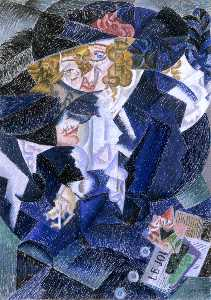 Gino Severini - Portrait of Madame M.S.