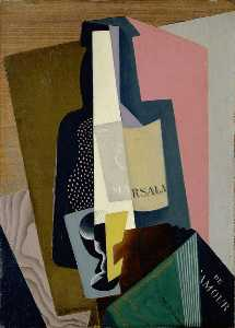 Gino Severini - Still Life with Marsala B..