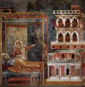 Giotto Di Bondone - Dream of the Palace