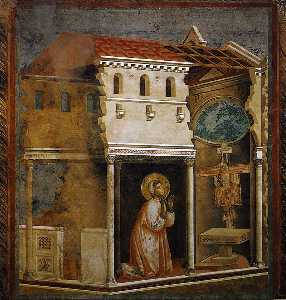 Giotto Di Bondone - Miracle of the Crucifix