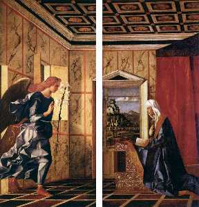 Giovanni Bellini - The Annunciation