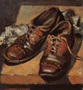 Grant Wood - Old shoes