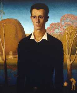 Grant Wood - Arnold Comes of Age