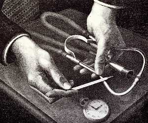 Grant Wood - Family Doctor
