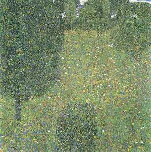 Gustav Klimt - Landscape Garden (Meadow in Flower)