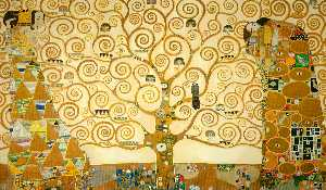 Gustav Klimt - The Tree of Life, Stoclet..