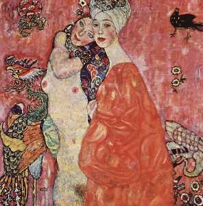Gustav Klimt - The Women Friends