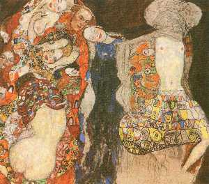 Gustav Klimt - The Bride (unfinished)