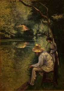 Gustave Caillebotte - Angling