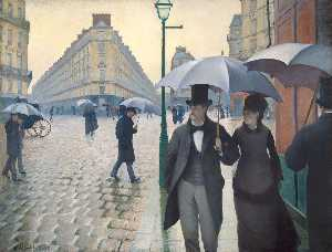 Gustave Caillebotte - Paris, a Rainy Day