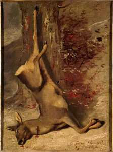 Gustave Courbet - The Deer