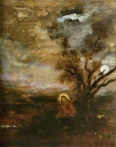 Gustave Moreau - Christ in the Garden