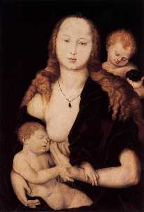 Hans Baldung - Virgin and Child
