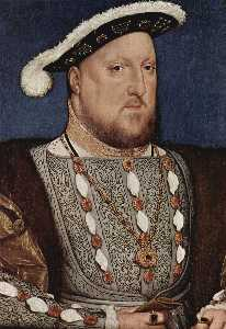 Hans Holbein The Younger - Portrait of Henry VIII, K..