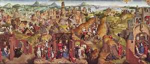 Hans Memling - Scenes from the life of M..