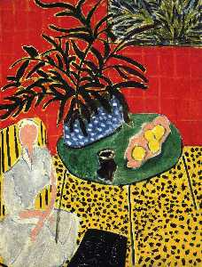Henri Matisse - Interior with Black Fern