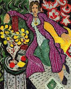 Henri Matisse - Woman in a Purple Coat