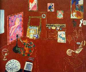 Henri Matisse - Red Studio