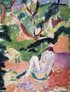 Henri Matisse - Nude in a Wood
