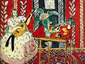Henri Matisse - The lute