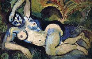 Henri Matisse - The Blue Nude (Souvenir of Biskra)