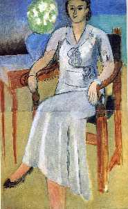 Henri Matisse - Woman with a White Dress