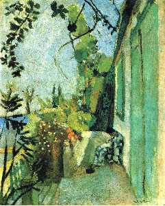 Henri Matisse - The Terrace, St. Tropez