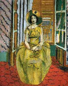 Henri Matisse - The Yellow Dress
