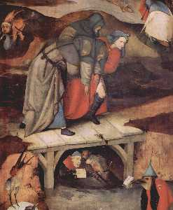 Hieronymus Bosch - The Temptation of St. Ant..