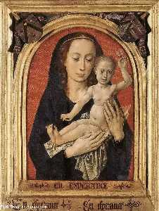 Hugo Van Der Goes - Mary with child