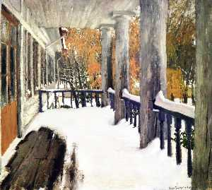 Igor Emmanuilovich Grabar - September Snow